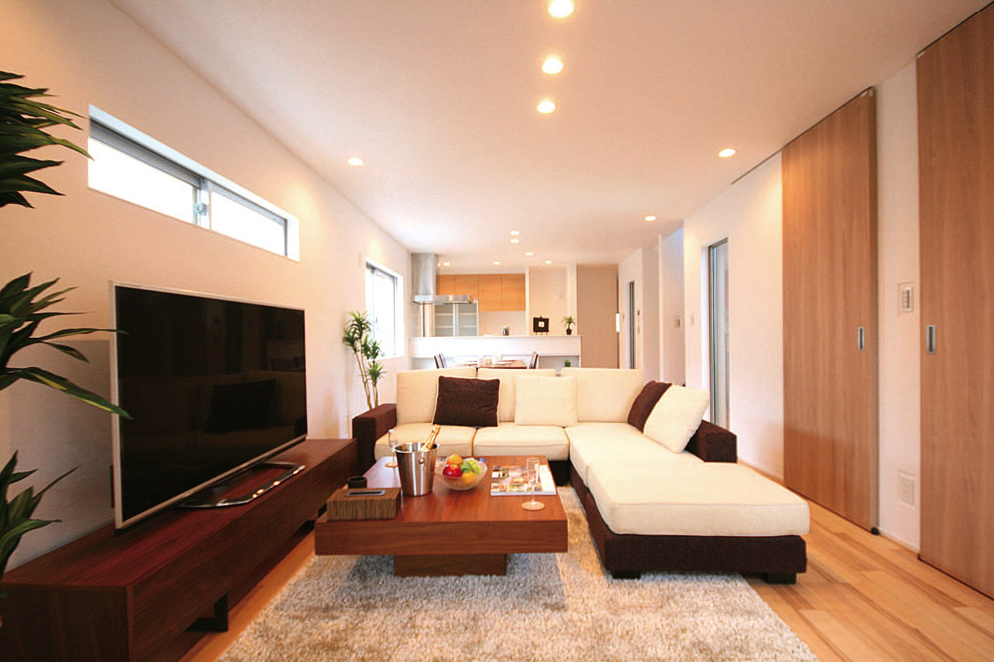 家族のふれあいを大切にした、機能性×デザイン性を両立した邸宅