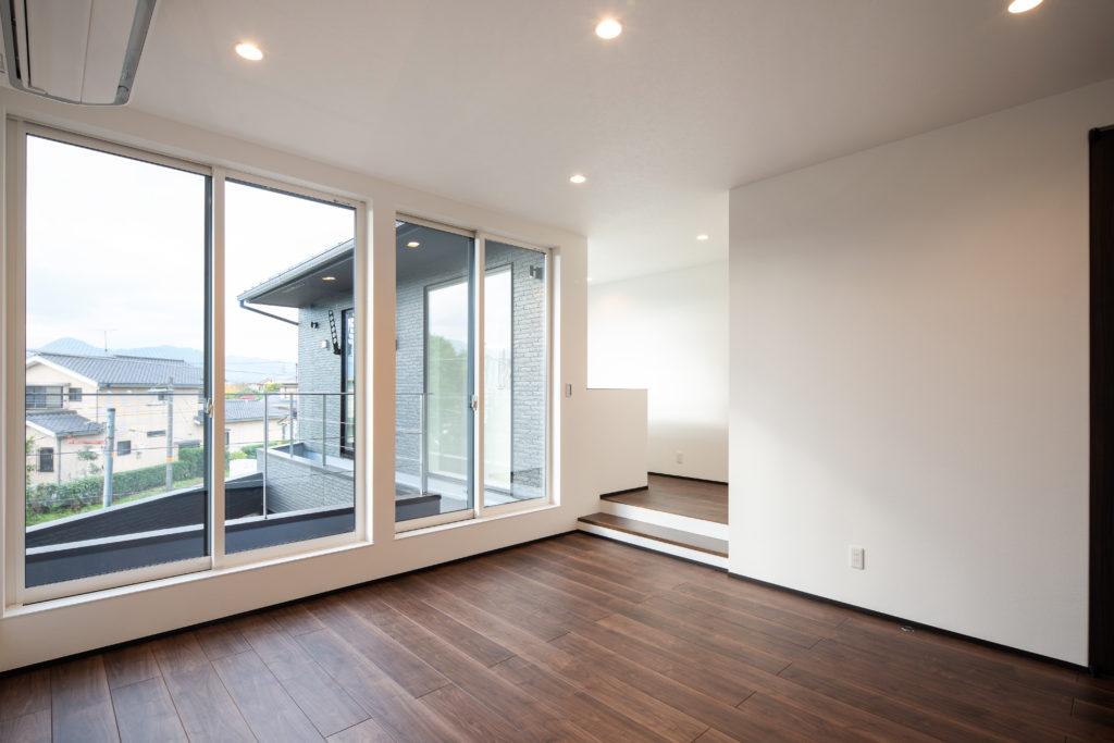 程よい距離感のある理想的な二世帯住宅