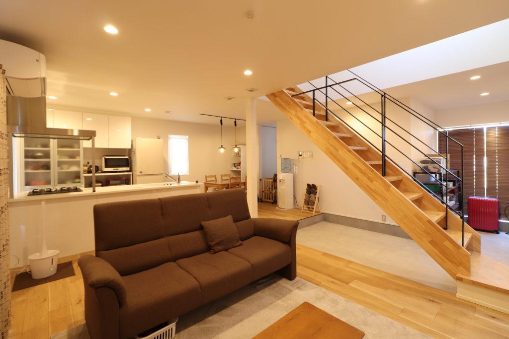 フルオープンな家。